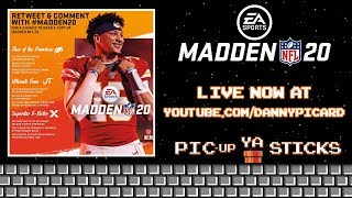 MADDEN 20 REVEAL AND GIVEAWAY - PIC-up YA STICKS