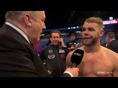 """Billy Joe Saunders Wants Callum Smith Unification Fight 