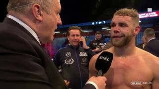 Billy Joe Saunders wants Callum Smith unification fight |