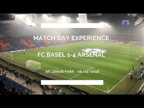 Groundhop At St. Jakob Park - Basel Vs. Arsenal - CHAMPIONS LEAGUE VLOG