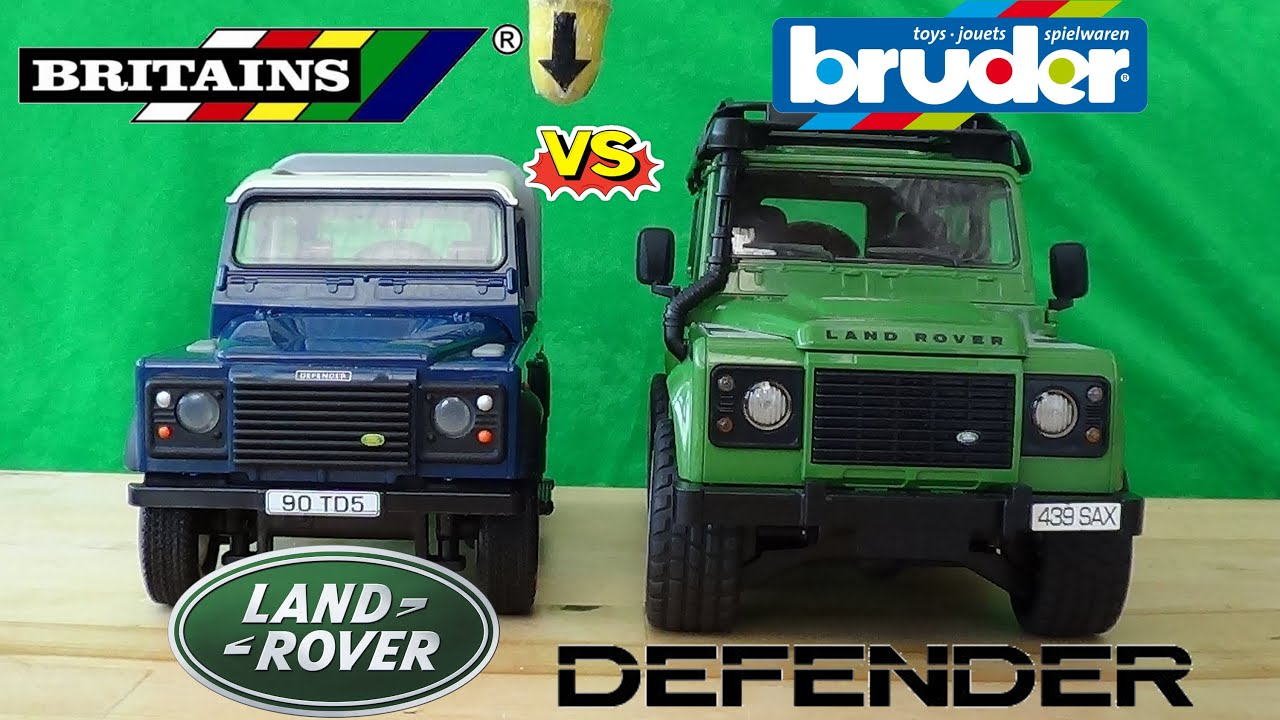 Britains Vs Bruder 1 16 Land Rover Defender  Final Round