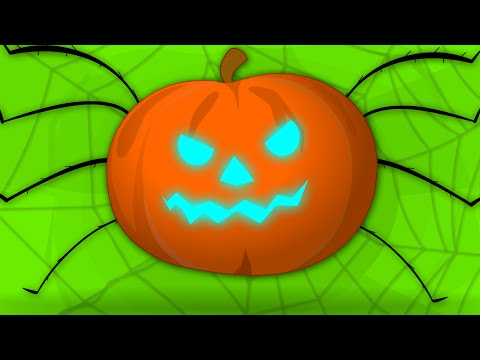 Incy WIncy Spider | Halloween Song | Scary Nursery Rhymes For Kids