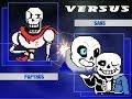 Kids Play UNDERTALE MUGEN Player 1 Versus Player 2 MUGEN Battles mp3