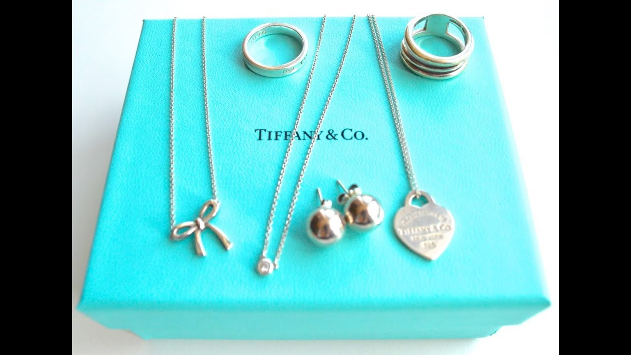My Tiffany Jewellery Collection Youtube