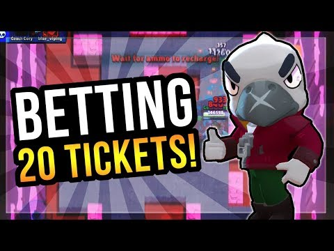 Betting 20 Tickets in Boss Fight! Best Brawler for Hall of the Mole King? Brawl Stars