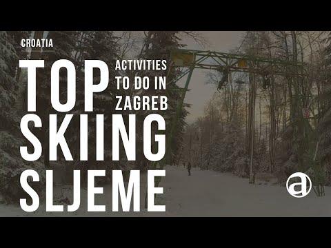 Skiing Zagreb | Ski Zagreb | Ski Sljeme - Medvednica | Sport Tourism | Zagreb Day Trips | antropoti