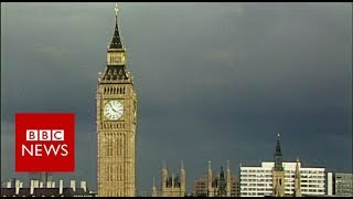 Big Ben chimes for last time in 4 years before falling silent for repairs - BBC News