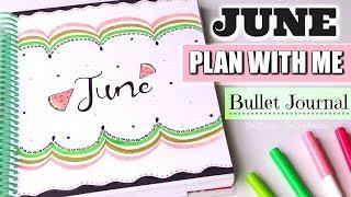 Video PLAN WITH ME - June 2018 Bullet Journal Setup | SoCraftastic download MP3, 3GP, MP4, WEBM, AVI, FLV Juli 2018