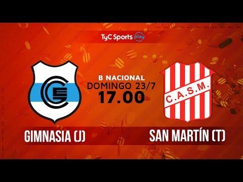 Primera B Nacional: Gimnasia (J) vs. San Martín (T) | #BNacionalenTyC