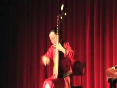 "LIU FANG performing ""塞外吟"" @ WE ART MUSIC in Turin"