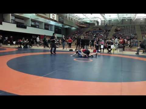 2016 Dino Invitational: 59 kg Tianna Kennett vs. Amber Maschke