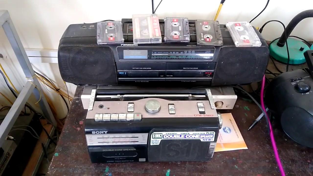 Giật mình ĐÀI QUAY BĂNG CŨ vẫn được sử dụng trong hệ thống phát thanh cấp Thị trấn