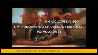 Omar Lambertini - Ti amo da morire (karaoke+lyrics)