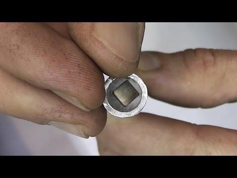 Неодимовый магнит в алюминиевой трубе
