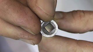 Неодимовый магнит в алюминиевой трубе(, 2015-01-11T20:22:31.000Z)