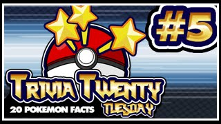 Pokeology Facts: 20 Pokemon Facts To Blow Your Mind #5 [Trivia Twenty Tuesday]