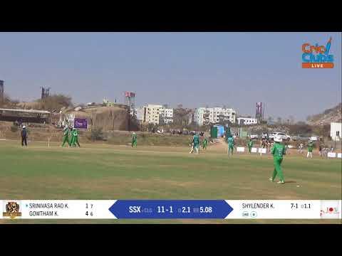 TCPL 1st match 1st innings of Super Sixers vs Century Legends 2018-02-04