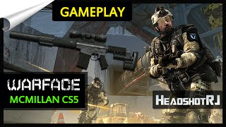 Warface Gameplay Domination e McMillan CS5