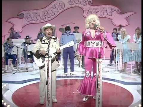 slim Pickman and Polly Parton classic musical number from the two ronnies