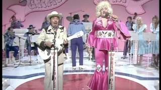 Repeat youtube video slim Pickman and Polly Parton classic musical number from the two ronnies