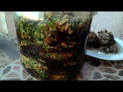 Баклажаны по-армянски 'Магаданоси'/Eggplants