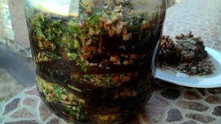 "Баклажаны по-армянски ""Магаданоси""/Eggplants in Armenian for the winter"