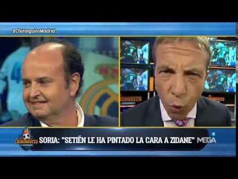 """Cristobal Soria, TAJANTE: """"Setién LE HA PINTADO LA CARA a Zidane"""""""