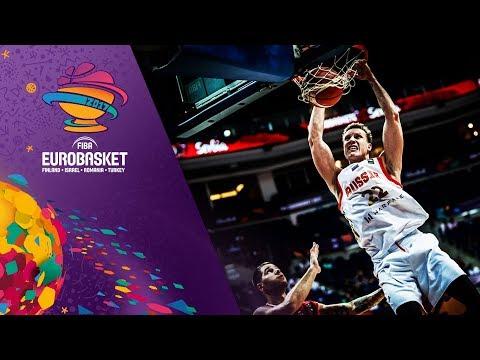 Russia v Serbia - Full Game - FIBA EuroBasket 2017