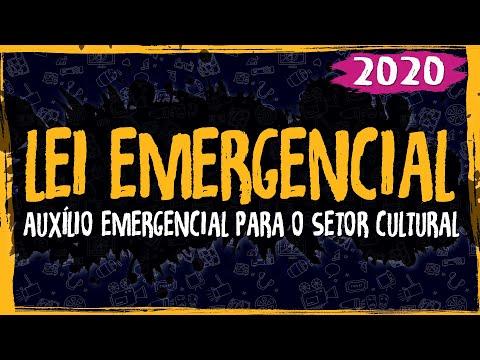 Lei Emergencial 1075 - Auxílio Emergencial para o Setor Cultural - 2020