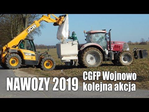 NAWOZY '2019 w CGFP - kolejna akcja (2x Case IH Puma + Kverneland)