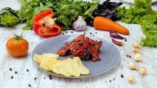 Курица с болгарским перцем - Рецепты от Со Вкусом