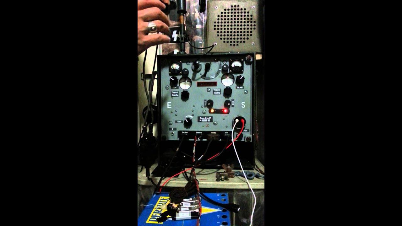 Torn Fu d2 replica with original Panzer throat mic - YouTube