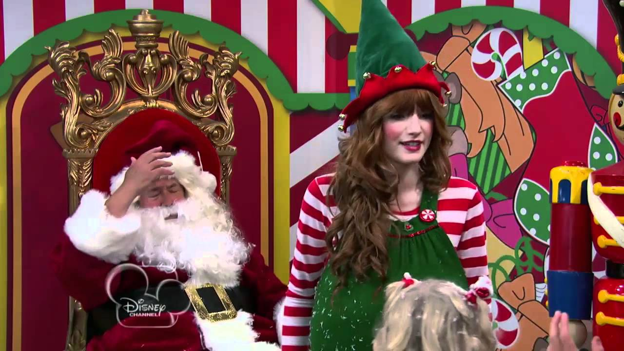 Bella Thorne Dressed Like Elf For 'Shake It Up!' Holiday Episode ...
