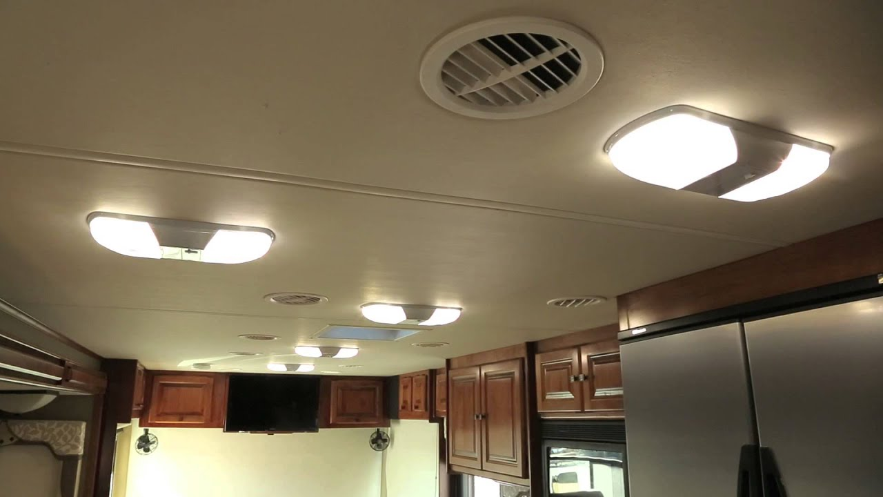 tiffin motorhomes a closer look led lighting youtube