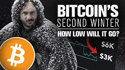 BITCOINs 2nd Winter Is Here! How Low Will It Go? 6k? 3k? Lower?