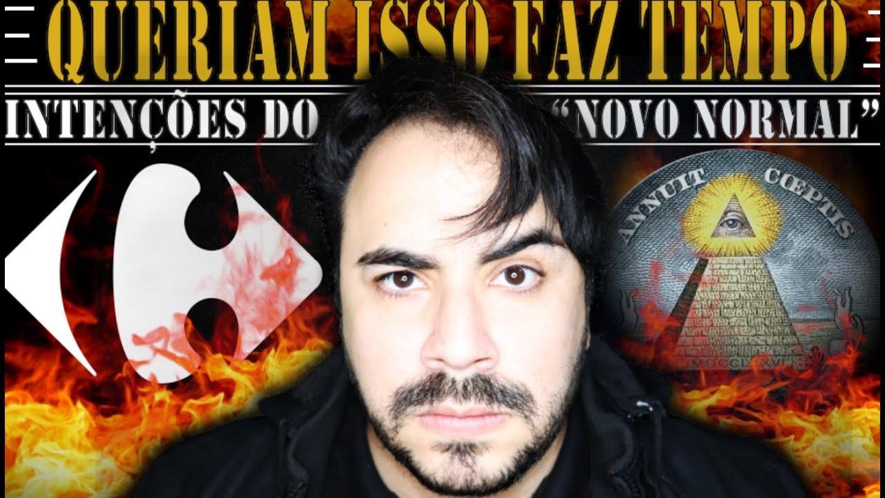 """CARREFOUR faz TENEBROSA REVELAÇÃO sobre o """"NOVO NORMAL"""" e as INTENÇÕES de TUDO ISSO... ANÁLISE"""