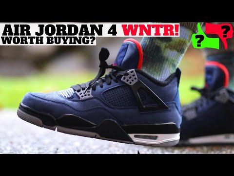 "Worth Buying? AIR JORDAN 4 RETRO ""WNTR"" Review Pros & Cons!"