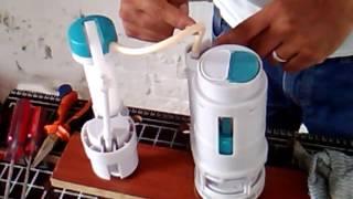 Como revisar fugas de agua válvula de sanitario