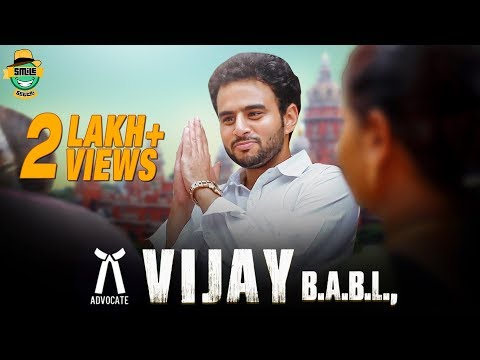 Vijay B.A.B.L from Vada Chennai | Mr Madras | Episode 4 | RJ Vijay | Smile Settai