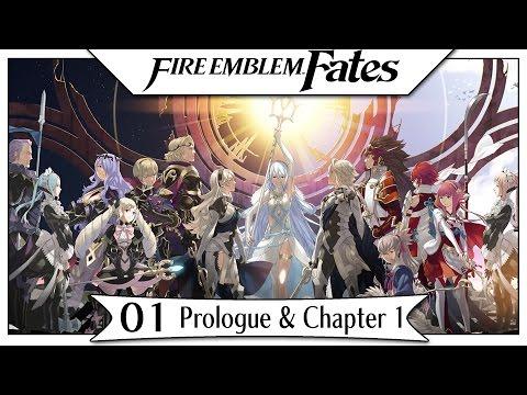Fire Emblem Fates - Part 1   Prologue & Chapter 1! [English Gameplay Walkthrough]