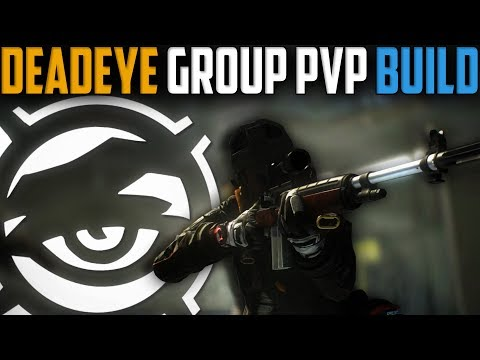 The Division | My Deadeye PvP Build for the DZ | Patch 1.8
