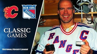NHL Classic Games: Messier scores 500th goal on first hat trick in four years 11/06/95