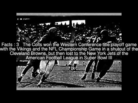 1968 Baltimore Colts season Top  #5 Facts