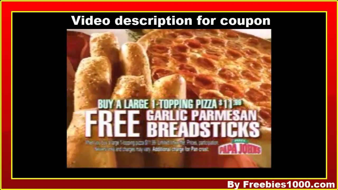 image about Papa Johns Printable Coupons identified as Papa Johns Discount codes - Papa Johns Printable Discount coupons Codes
