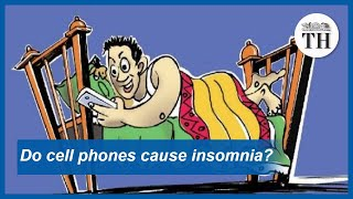 Do mobile phones cause insomnia