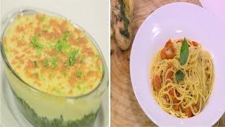 مكرونة طماطم بالريحان - كارتشيو سي باص - اوفن دي ماري - بادتاي | نص مشكل حلقة كاملة