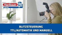 Online Fotokurs für Einsteiger 36: Blitzsteuerung TTL/Automatik und manuell