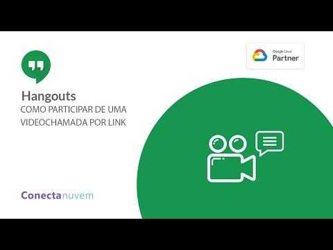 Como participar de uma videochamada por link