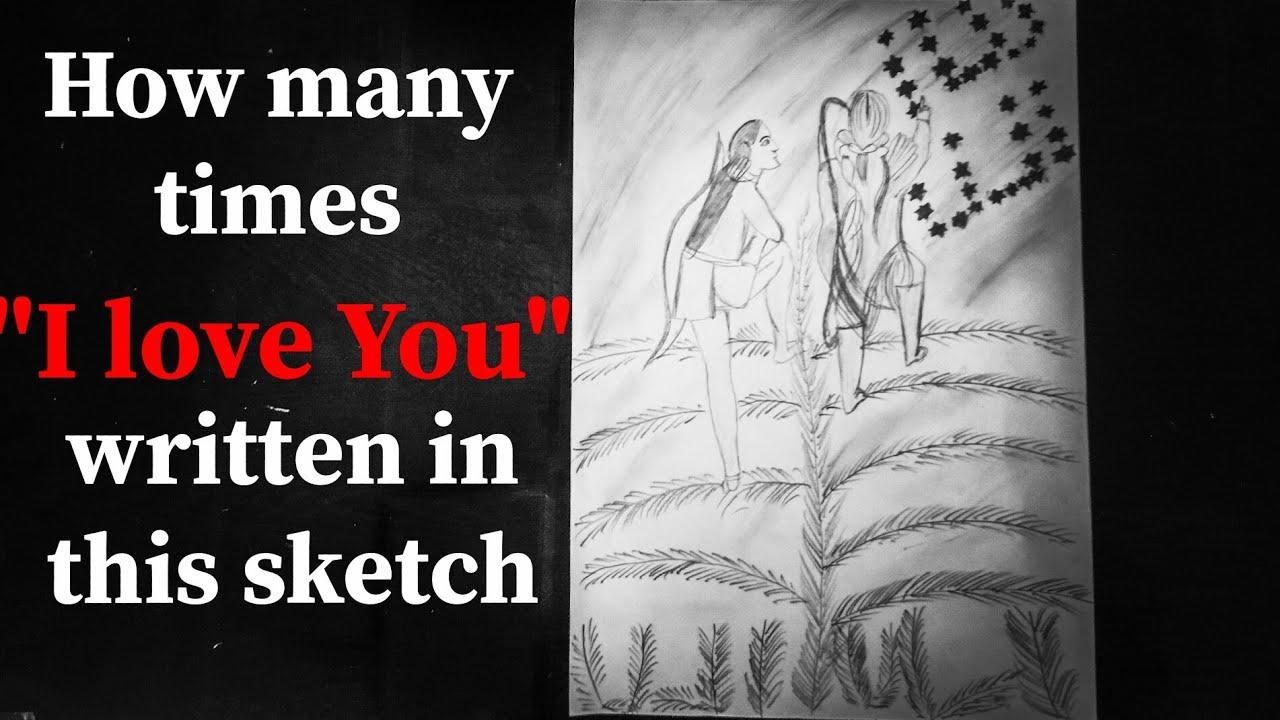 Sketch bnana kase sikhe| pencil art|mystery sketch|Shalu ...