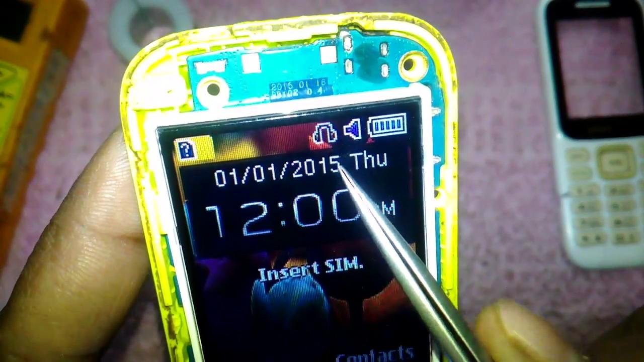 Samsung B310 Headfone Symbol Problem How To Repair Youtube